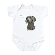 Weimaraner Best Friend 1 Infant Bodysuit