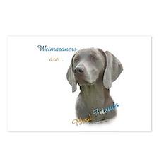 Weimaraner Best Friend 1 Postcards (Package of 8)