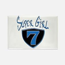Super Girl #7 Rectangle Magnet