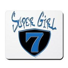 Super Girl #7 Mousepad