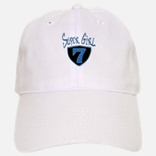 Super Girl #7 Baseball Baseball Cap