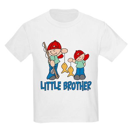 Fishing Buddys Little Brother Kids Light T-Shirt