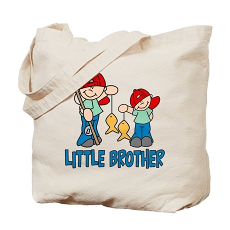 Fishing Buddys Little Brother Tote Bag