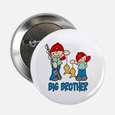 "Fishing Buddys Big Brother 2.25"" Button"