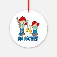 Fishing Buddys Big Brother Ornament (Round)