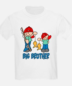 Fishing Buddys Big Brother T-Shirt