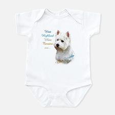 Westie Best Friend 1 Infant Bodysuit
