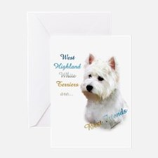 Westie Best Friend 1 Greeting Card