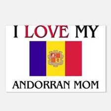 I Love My Andorran Mom Postcards (Package of 8)