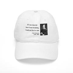 Emily Dickinson 9 Baseball Cap