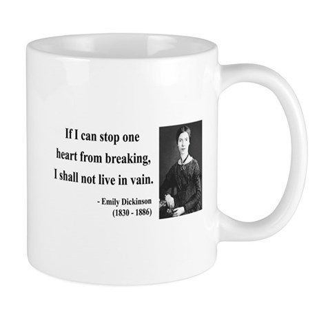 Emily Dickinson 9 Mug