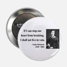 """Emily Dickinson 9 2.25"""" Button"""