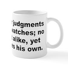 Unique Pope quotation Mug