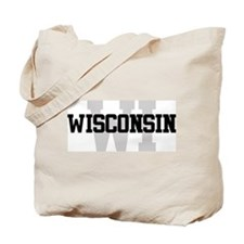 WI Wisconsin Tote Bag