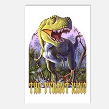 Green Rex 2 Postcards (Package of 8)