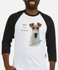 Wire Fox Best Friend 1 Baseball Jersey