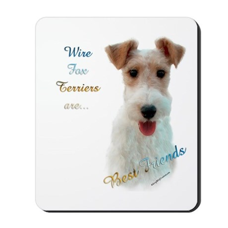 Wire Fox Best Friend 1 Mousepad