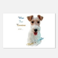 Wire Fox Best Friend 1 Postcards (Package of 8)