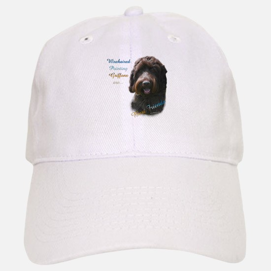 Wirehaired Best Friend 1 Baseball Baseball Cap