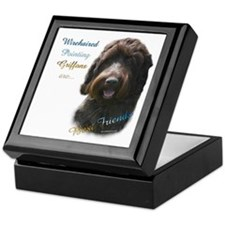 Wirehaired Best Friend 1 Keepsake Box