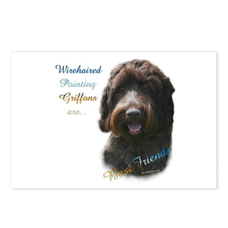 Wirehaired Best Friend 1 Postcards (Package of 8)
