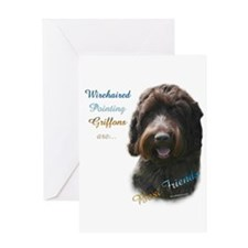 Wirehaired Best Friend 1 Greeting Card