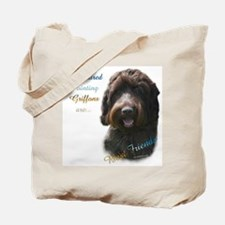 Wirehaired Best Friend 1 Tote Bag