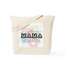 Scrapbookin' Mama Tote Bag