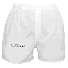 Don't Blame Me... Boxer Shorts