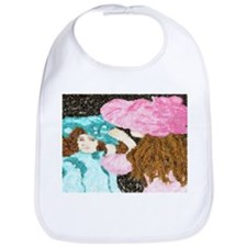 Cute Monet waterlillies Bib