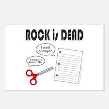 ROCK IS DEAD/PAPER SCISSOR ROCK Postcards (Package