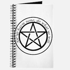 an' ye harm none Journal