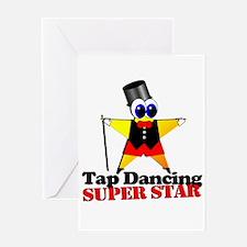 Tap Dance Star Greeting Card