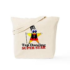 Tap Dance Star Tote Bag