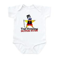 Tap Dancing Star Infant Bodysuit