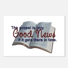 The Gospel Postcards (Package of 8)