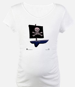 """Jolly Roger"" on front Shirt"