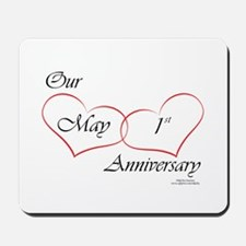 May 1st Anniversary Mousepad