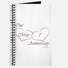 May 1st Anniversary Journal