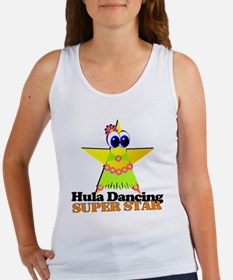 Hula Dancing Super Star Women's Tank Top