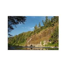 Eel River Cliff Rectangle Magnet