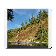 Eel River Cliff Mousepad