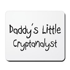 Daddy's Little Cryptanalyst Mousepad
