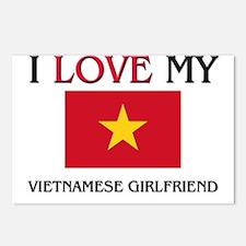 I Love My Vietnamese Girlfriend Postcards (Package