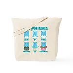 Milk Mustaches Tote Bag