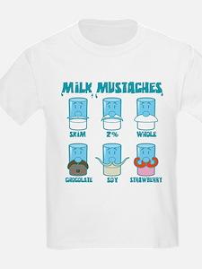 Milk Mustaches T-Shirt