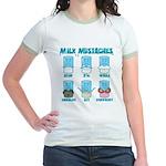 Milk Mustaches Jr. Ringer T-Shirt