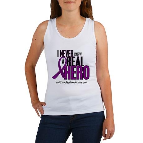 Never Knew A Hero 2 Purple (Nephew) Women's Tank T