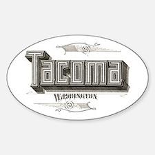 Tacoma Oval Decal