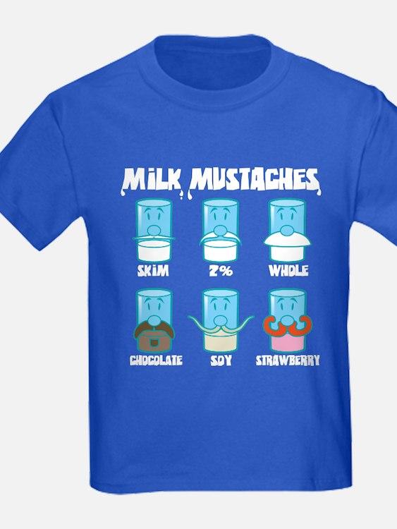 Milk Mustaches T